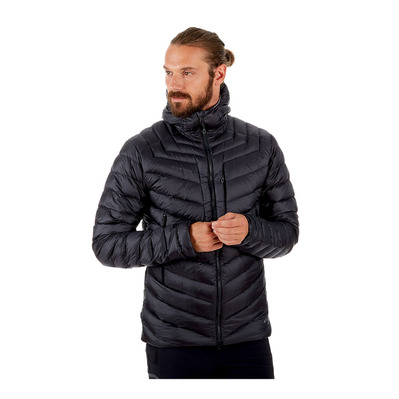 MAMMUT - BROAD PEAK - Piumino Uomo black/phantom