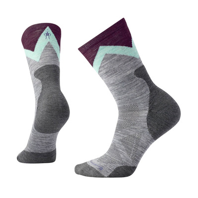 SMARTWOOL - PRO APPROACH LIGHT ELITE CREW - Chaussettes Femme light gray