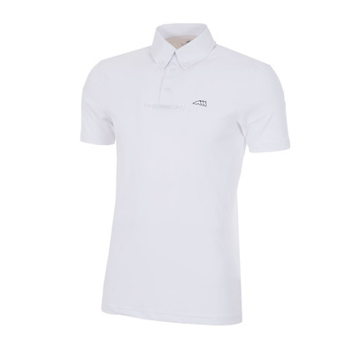 EQUILINE - ALDO - Polo concours Homme white