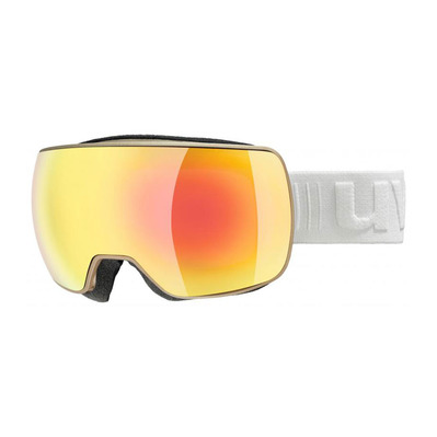 UVEX - COMPACT FM - Masque ski prosecco mat/mirror orange clear