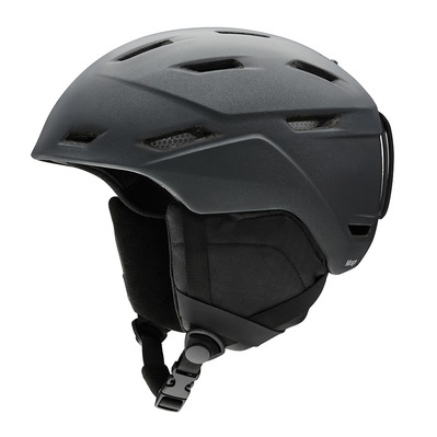 SMITH - MIRAGE - Casque ski matte black pearl