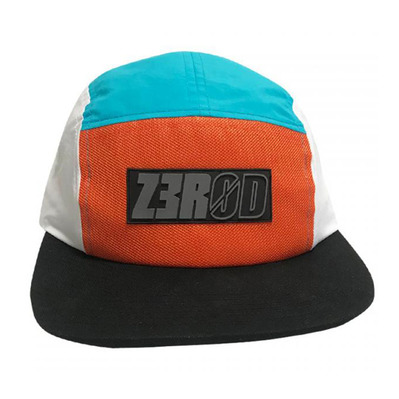 Z3ROD - PANEL - Casquette orange/atoll