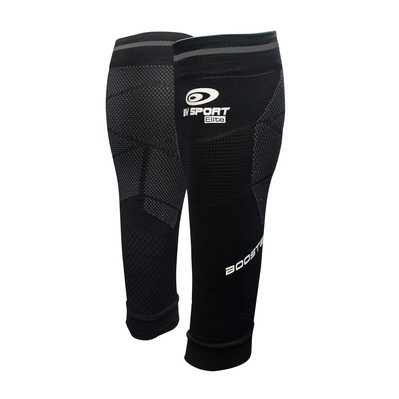 BV SPORT - BOOSTER ELITE EVO2 - Calf Sleeves - black