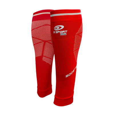 BV SPORT - BOOSTER ELITE EVO2 - Calf Sleeves - red