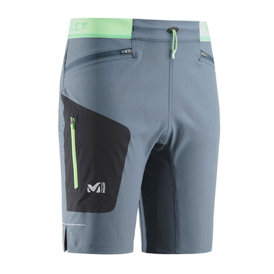 MILLET - LTK SPEED - Short Homme orion blue/noir