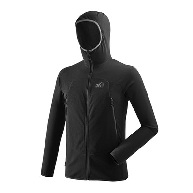 MILLET - K LIGHTGRID HOODIE - Fleece - Men's - black