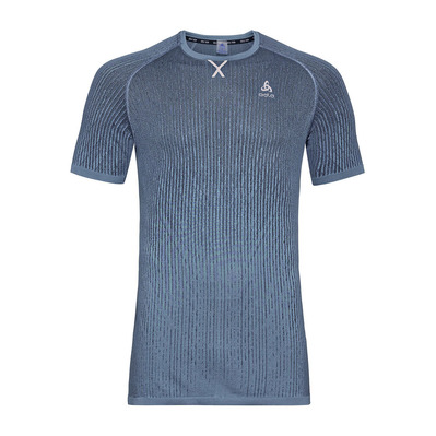 ODLO - CERAMICOOL BLACKCOMB PRO - Jersey - Men's - ensign blue