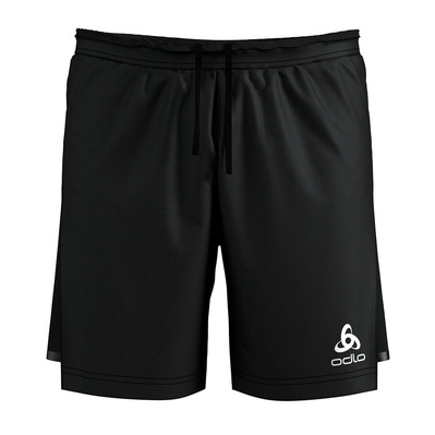 ODLO - ZEROWEIGHT - 2 in 1 Shorts - Men's - black/black