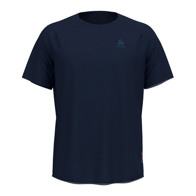 ODLO - CERAMIWOOL - T-Shirt - Men's - diving navy