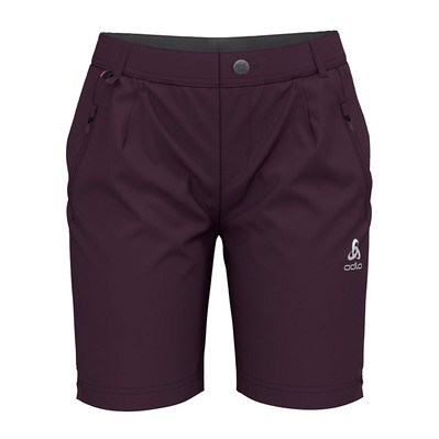 ODLO - KOYA COOL PRO - Bermuda Shorts - Women's - plum perfect