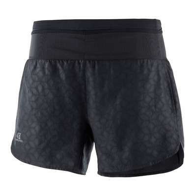 SALOMON - XA - Short 2 in 1 Donna black