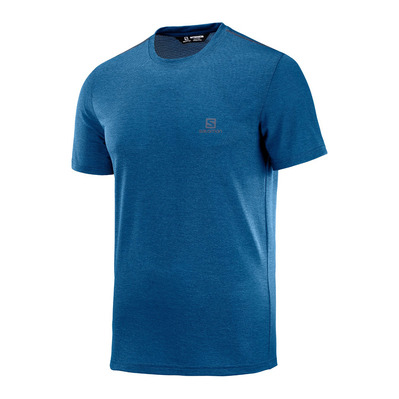 SALOMON - EXPLORE PIQUE - Jersey - Men's - poseidon