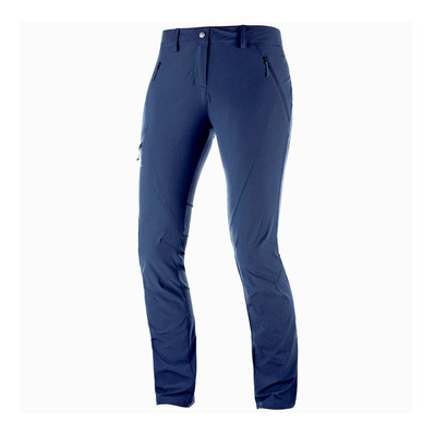 SALOMON - WAYFARER TAPERED - Pants - Women's - night sky