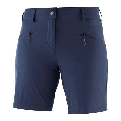 SALOMON - WAYFARER LT - Short mujer night sky
