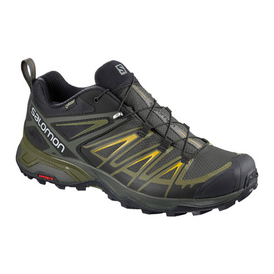 SALOMON - X ULTRA 3 GTX - Hiking Shoes - Men's - castor gra/beluga/gr