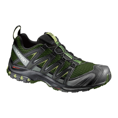SALOMON - XA PRO 3D - Trail Shoes - Men's - chive/black/beluga