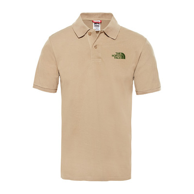 THE NORTH FACE - PIQUET - Polo - Men's - kelp tan