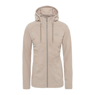 THE NORTH FACE - MEZZALUNA - Fleece - Women's - pink salt stripe