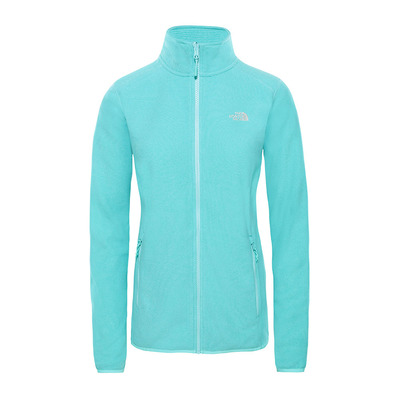 THE NORTH FACE - 100 GLACIER - Fleece - Women's - mint blue stripe