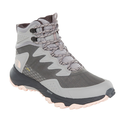 THE NORTH FACE - ULTRA FASTPACK III GTX - Hiking Shoes - Women's - meld grey/pink salt