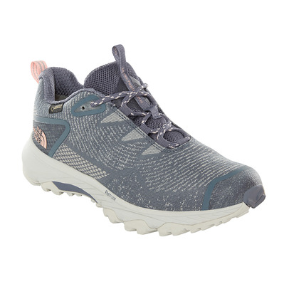 THE NORTH FACE - ULTRA FASTPACK III GTX - Chaussures randonnée Femme grisaille grey/pink salt
