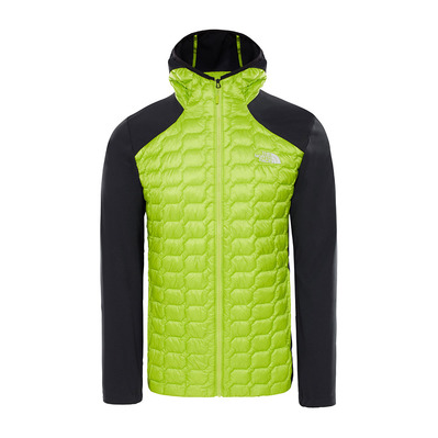 THE NORTH FACE - THERMOBALL - Hybrid Jacket - Men's - lime green/tnf black