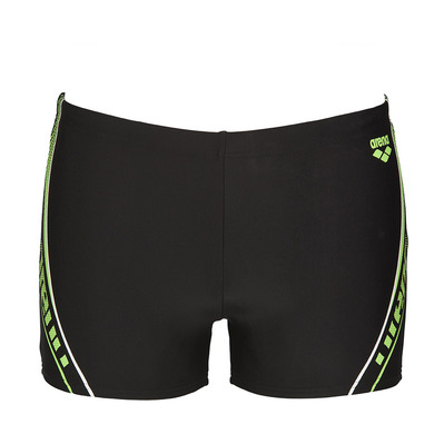 ARENA - SONAR - Swimming Trunks - Men's - black/shiny green