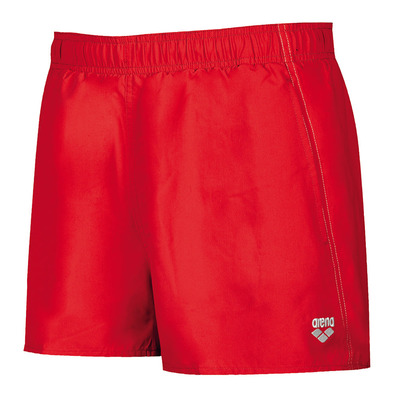 ARENA - FUNDAMENTALS X-SHORT - Swimming Shorts - Men's - red/white