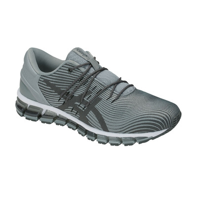 ASICS - GEL-QUANTUM 360 4 - Running Shoes - Men's - stone grey/dark grey