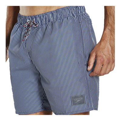 SPEEDO - GINGHAM CHECK LEISURE - Short de bain Homme navy/white