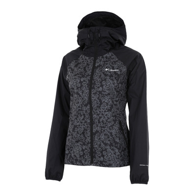 COLUMBIA - ULICA - Jacket - Women's - black/black edelweiss