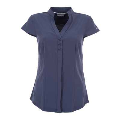 COLUMBIA - SATURDAY TRAIL - Camisa mujer nocturnal