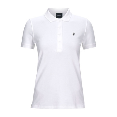 PEAK PERFORMANCE - GOLF - Polo Femme white