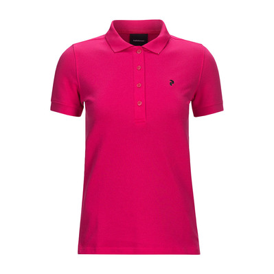 PEAK PERFORMANCE - GOLF - Polo Femme fusion pink
