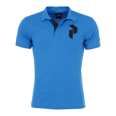 PEAK PERFORMANCE - PANMOREPO - Polo hombre blue bird