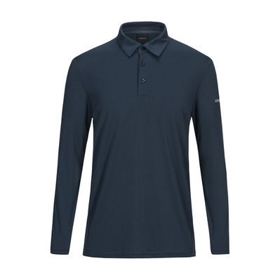 PEAK PERFORMANCE - VERSEC - Polo Homme blue steel