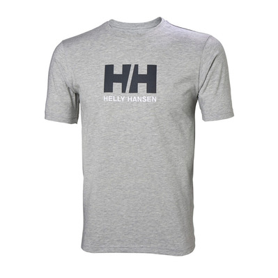 HELLY HANSEN - LOGO - T-Shirt - Men's - grey marl