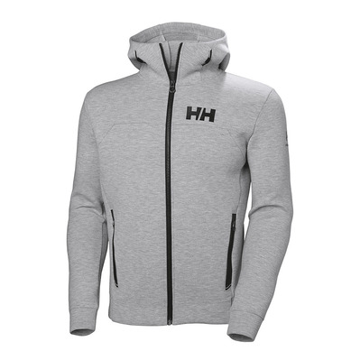 HELLY HANSEN - HP OCEAN FZ - Sweat Homme grey melange