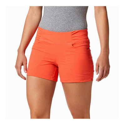 MOUNTAIN HARDWEAR - DYNAMA - Short mujer solstice red
