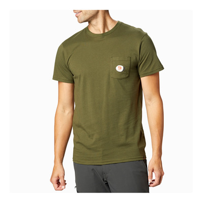 MOUNTAIN HARDWEAR - PEAKS'N PINTS - Camiseta hombre dark army