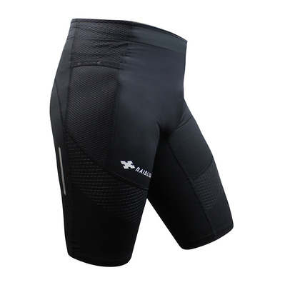 RAIDLIGHT - STRETCH RAIDER - Mallas cortas hombre negro