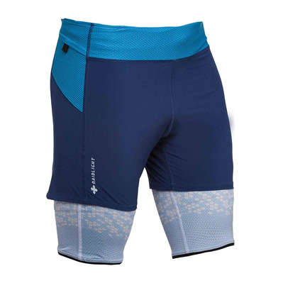 RAIDLIGHT - ULTRALIGHT - 2 in 1 Shorts - Men's - dark blue