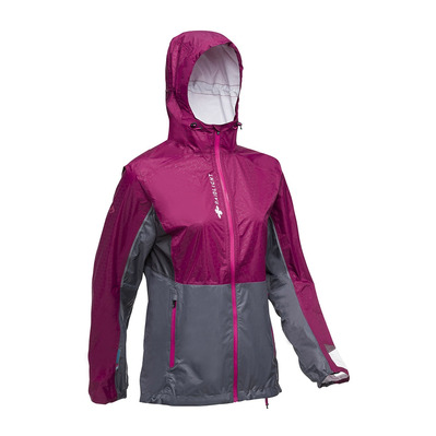 RAIDLIGHT - TOP EXTREME MP+ - Chaqueta mujer garnet/grey