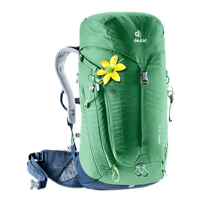 DEUTER - TRAIL 28L - Backpack - Women's - green/navy blue