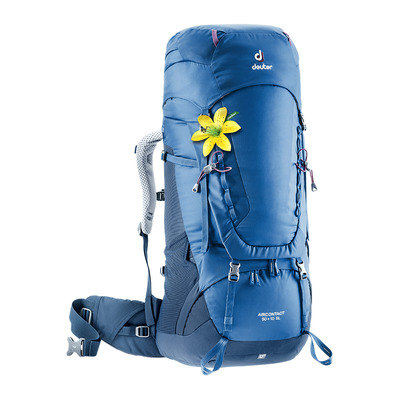 DEUTER - AIRCONTACT 50+10L - Backpack - Women's - steel/night blue