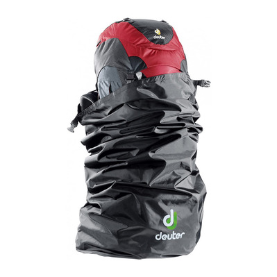 DEUTER - FLIGHT COVER 90L - Rain Cover - black