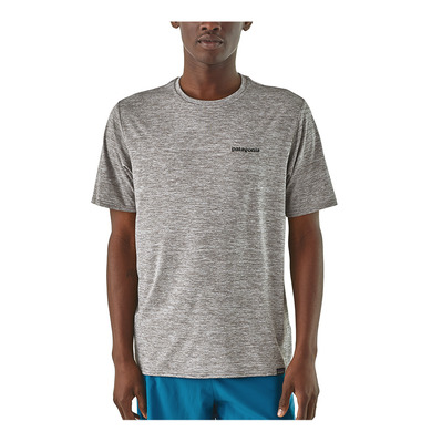 PATAGONIA - CAPILENE COOL DAILY GRAPHIC - Maillot Homme p-6 logo/feather grey