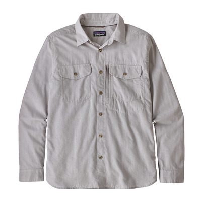 PATAGONIA - CAYO LARGO II - Camisa hombre feather grey