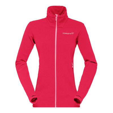 NORRONA - FALKETIND WARM 1 - Fleecejacke Frauen jester red