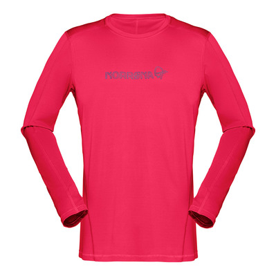 NORRONA - LS T-Shirt - Men's - /29 TECH jester red